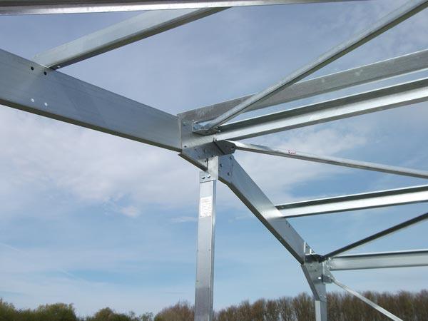Steel Building Frame Only : Structural steel frame buildings hot cold rolled