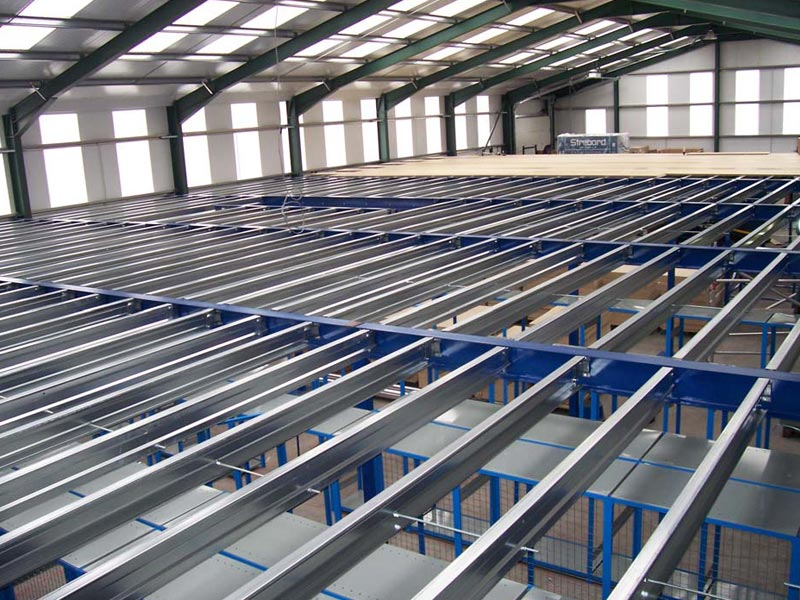 Internal steel mezzanine floors engineering solutions sa for Steel mezzanine design