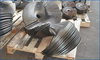 Steel Sectional Flights Amp Continuous Spiral Flighting For